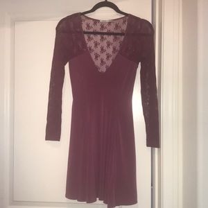 Plum Purple Lace Dress! Urban Outfitters!